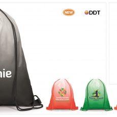 GRADIENT DRAWSTRING BAG 4550