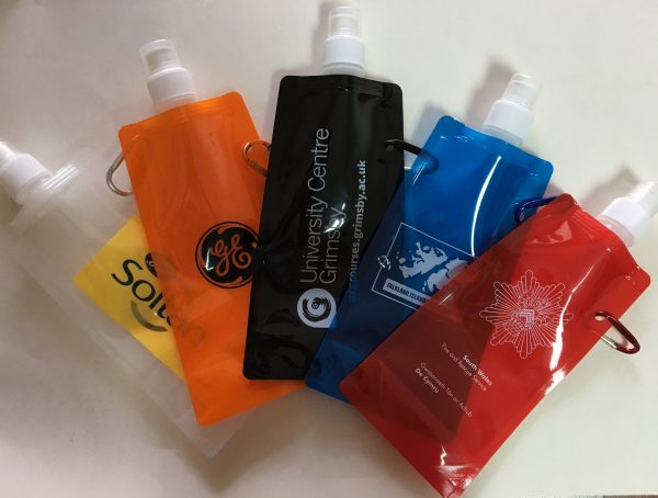 Foldable sports water bottles: Why didn't anyone think of that one before?
