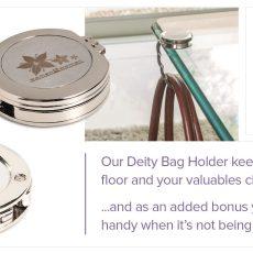 DEITY BAG HOLDER & MIRROR 9410