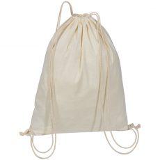 NATURAL COTTON DRAWSTRING BAG 63466