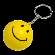 SMILEY STRESS BALL KEYCHAIN BK7865