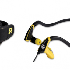 SPORTS EARPHONES WITH POUCH