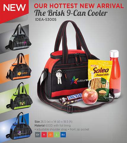 THE BRISK 9 CAN COOLER 53005