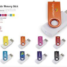 FLASHBACK WHITE MEMORY STICK 51009