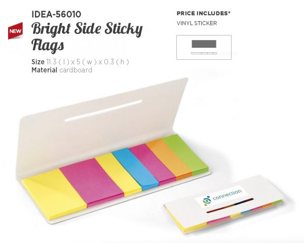 BRIGHT SIDE STICKY FLAGS 56010