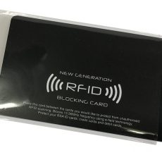THE RFID BLOCKING CARDS