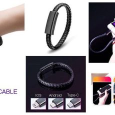 Leather Chain USB Cable