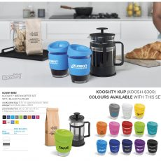 BREW KOFFEE SET WITH BLACK PLUNGER8980