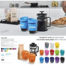 DELUXE KOFFEE SET WITH BLACK PLUNGER8985