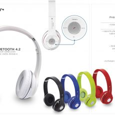 PHANTOM BLUETOOTH HEADPHONES4089