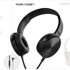 SWISS COUGAR COPENHAGEN HEADPHONES4383