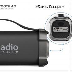 CHICAGO BLUETOOTH SPEAKER AND FM RADIO5136