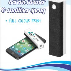 SCREEN CLEANER AND SANITISER SPRAY