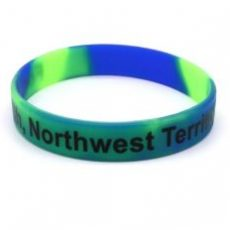 Special silicone wristbands